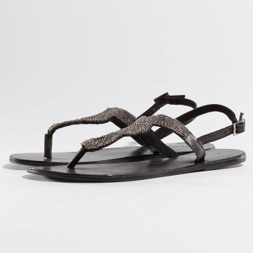 Pieces Sandalen PSCarmen Leather schwarz