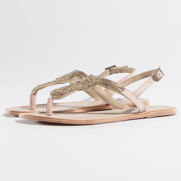 Pieces Sandaler PSCarmen Leather beige