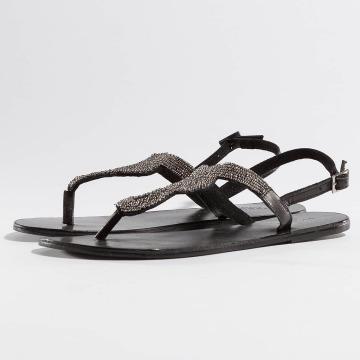 Pieces Sandaler PSCarmen Leather svart