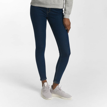 Pieces Skinny jeans pcHighfive blauw
