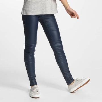 Pieces Skinny jeans pcFive blauw