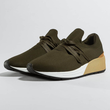 Pieces Sneakers psMary oliv