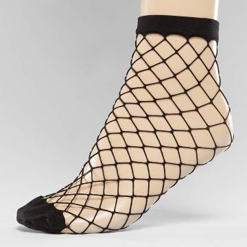 Pieces Socken pcFishnet schwarz