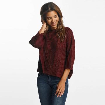Pieces Swetry pcNanok 3/4 czerwony