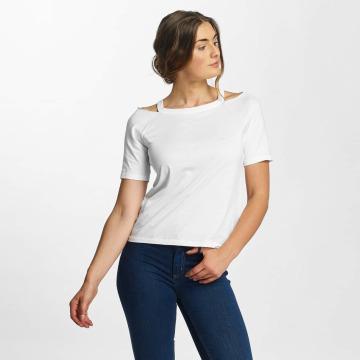 Pieces T-paidat pcLaurel valkoinen