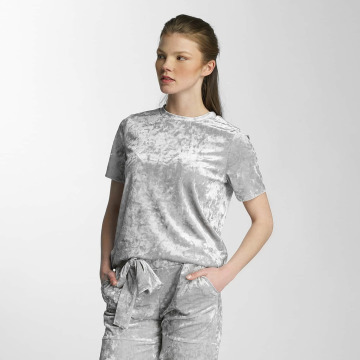 Pieces T-shirt pcEdith silver