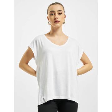 Pieces T-shirt PCBillo Solid vit