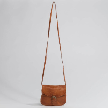 Pieces tas pcAbby Leather bruin