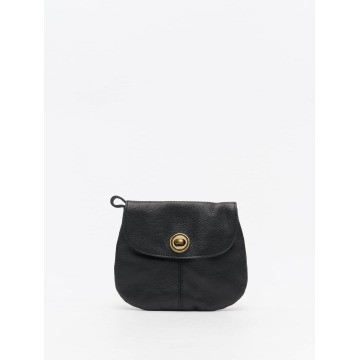Pieces Tasche Totally Royal Leather Party schwarz