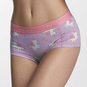 Pieces Underkläder pcLogo lila