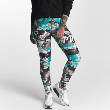 Pro Violence Streetwear Leggings/Treggings Camo Skull colored