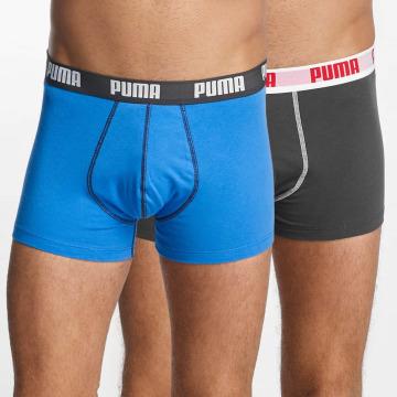 Puma boxershorts 2-Pack Basic Trunk blauw