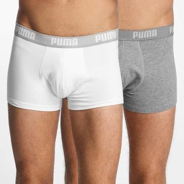 Puma boxershorts 2-Pack Basic Trunk wit
