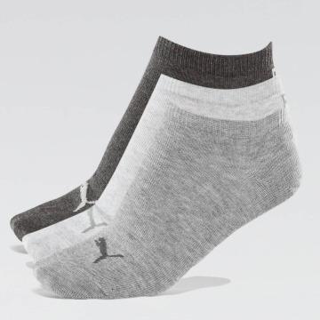 Puma Ponožky 3-Pack šedá