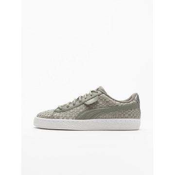 Puma Sneaker Basket Satin EP grau