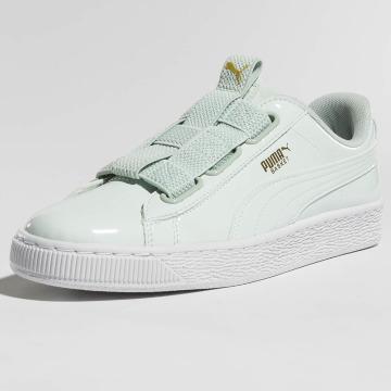 Puma sneaker Basket Maze groen