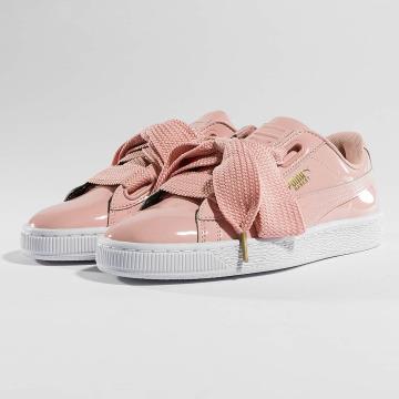 Puma Sneaker Basket Heart Patent rosa chiaro