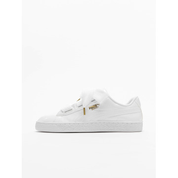 Puma Sneakers Basket Heart Patent white