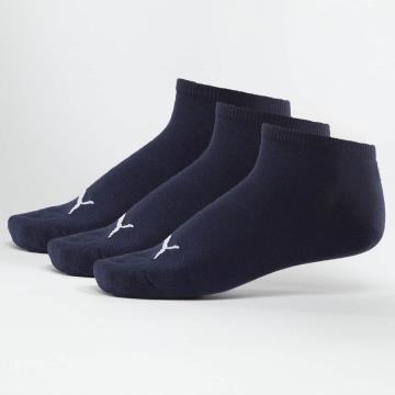Puma Sokken Sneakers 3 Pack blauw