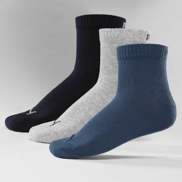 Puma Sokken Quarters 3 Pack blauw