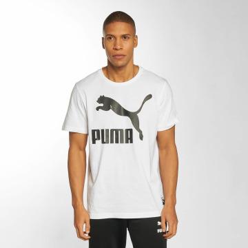 Puma T-shirt Archive Logo bianco