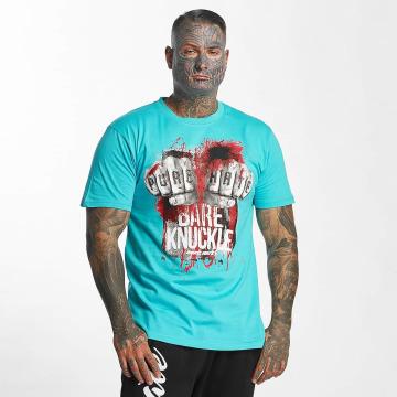 Pure Hate Camiseta Bare Knuckle turquesa