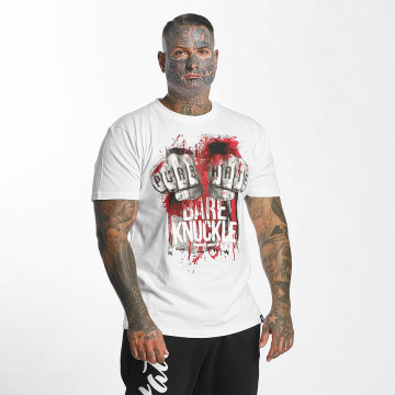 Pure Hate T-shirts Bare Knuckle hvid