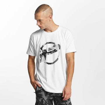 Pusher Apparel T-Shirty Destroyed bialy