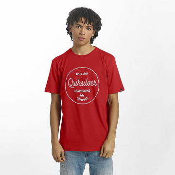 Quiksilver Camiseta Classic Morning Slides rojo