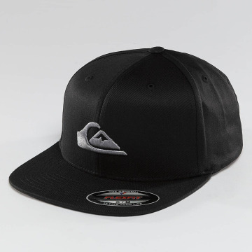Quiksilver Casquette Fitted Stuckles noir