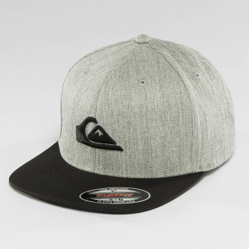 Quiksilver Fitted Cap Stuckles šedá