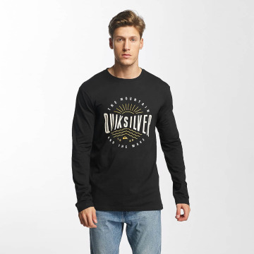 Quiksilver Longsleeve Classic Mad Wave black