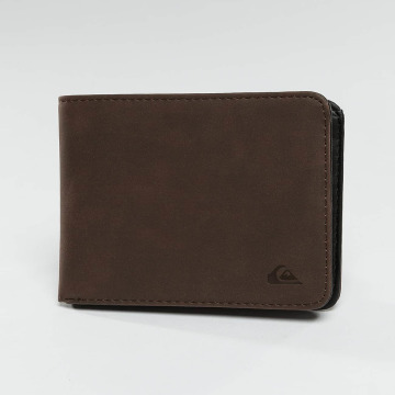 Quiksilver portemonnee Slim Vintage bruin