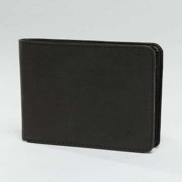 Quiksilver portemonnee Slim Vintage zwart