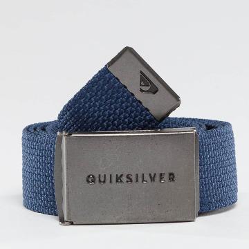 Quiksilver riem Principle III blauw