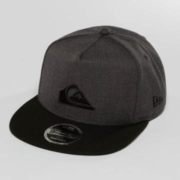 Quiksilver Snapback Cap Stuckles grigio