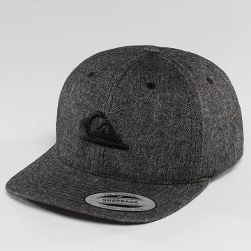 Quiksilver snapback cap Decades Plus grijs