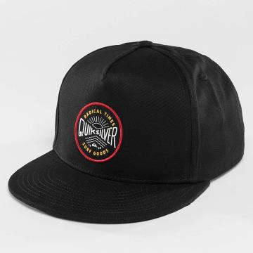Quiksilver snapback cap Mouthy zwart