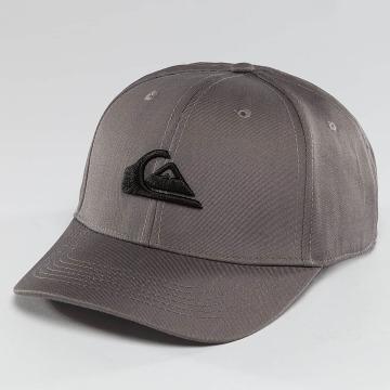 Quiksilver Snapback Caps Decades šedá