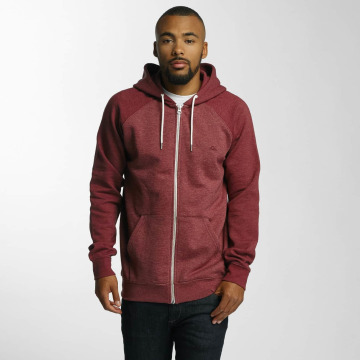 Quiksilver Sweat capuche zippé Everyday rouge