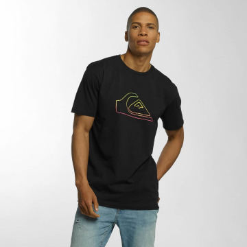 Quiksilver T-Shirt Classic Jungle Mountain black