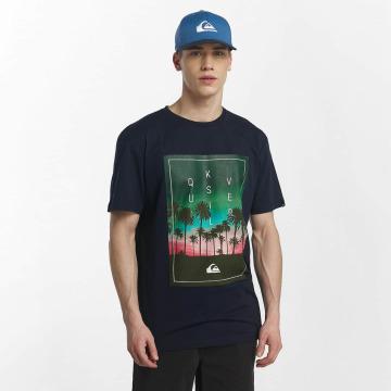 Quiksilver T-Shirt Classic Salina Stars blau