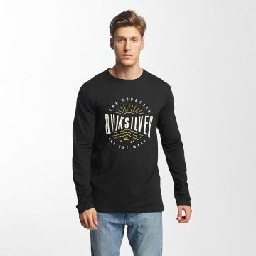 Quiksilver T-Shirt manches longues Classic Mad Wave noir