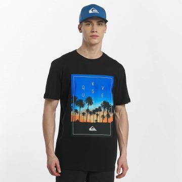 Quiksilver T-Shirt Classic Salina Stars noir