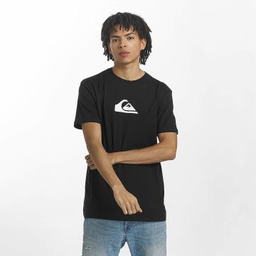Quiksilver T-Shirt Classic Comp Logo schwarz