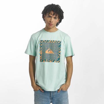 Quiksilver T-Shirt Classic Nano Spano turquoise