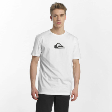 Quiksilver T-Shirt Classic Comp Logo white