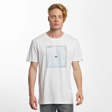 Quiksilver t-shirt Premium Heat Waves wit