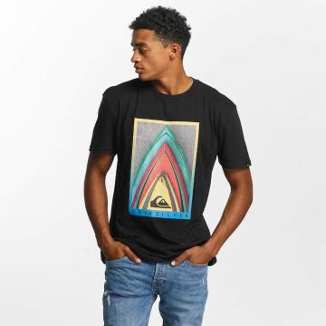 Quiksilver t-shirt Premium East Stacked zwart