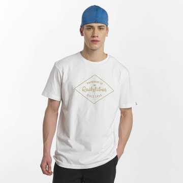 Quiksilver T-Shirty Classic Amethyst bialy
